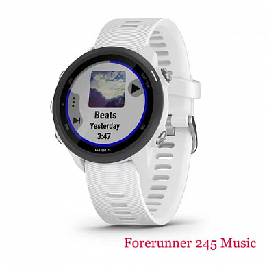 Forerunner 245 Music (white)