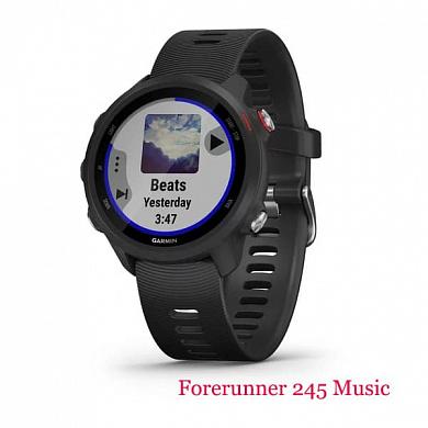 Forerunner 245 Music (black)